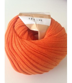 Comprar Ovillo de trapillo ligero naranja de Conideade