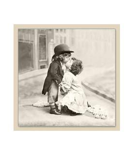 Servilleta Vintage kissing 33x33cm