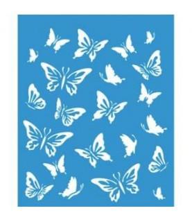 Comprar Plantilla stencil 21 x 17 cm mariposas de Conideade