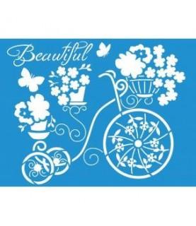 Comprar Plantilla stencil 21 x 17 cm bicicleta de Conideade