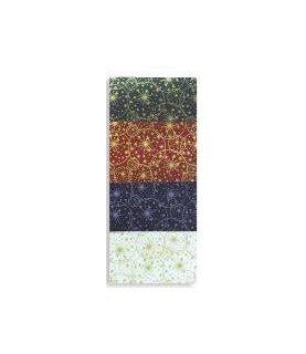 Comprar Tela popelin Estampado estrellas de navidad 50x45cm de Conideade