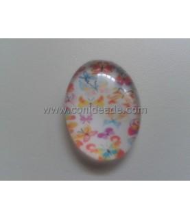 Comprar Cabuchon Cristal Mariposas 18x25mm de Conideade