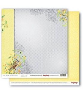 Papel para scrapbook de 30x30 mod fontainebleau