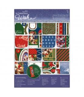Imagén: Pack completo de papely troquelados christmas wish
