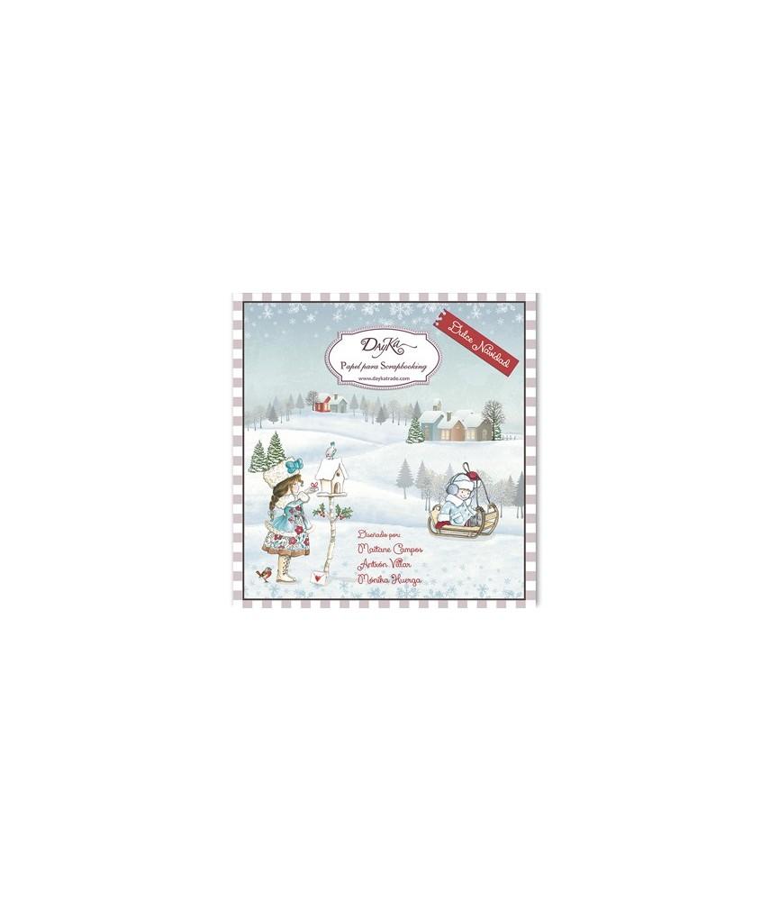 Libro scrap Navidad 24 hojas, ideal para crear un album de vacaciones