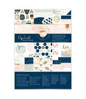 Comprar Pack 48 hojas A4 mod Opulent de Conideade