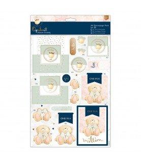 Comprar Pack A4 4 laminas de decoupage opulent de Conideade