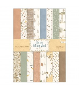 Comprar Pack 32 hojas A4 mod Willson Wood