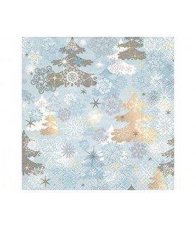 Comprar Servilleta paisaje Invierno navidad 33x33cm de Conideade