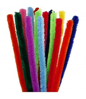 Pack de 25 Limpia pipas de 9 mm colores