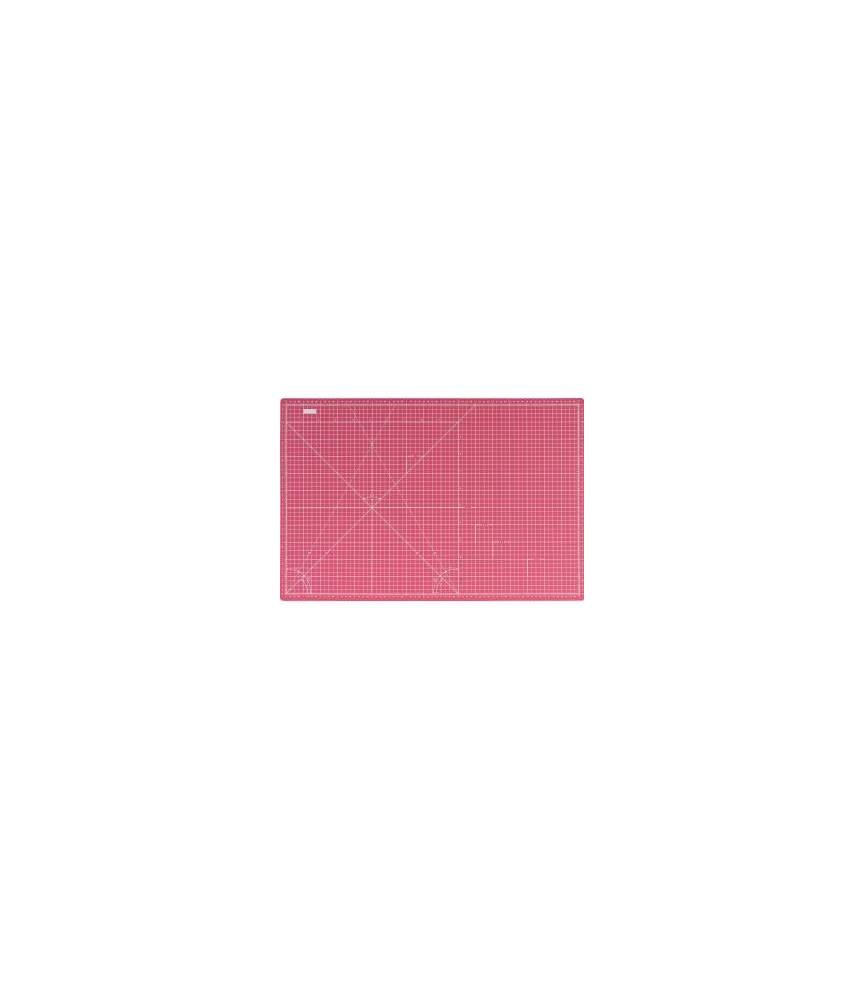 Base de corte rosa de doble cara rosa 30x22 cm