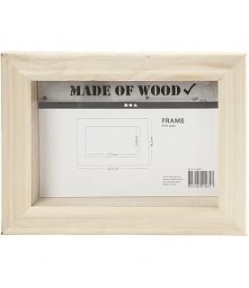 Caja marco 3D de 18 cm x 23 cm