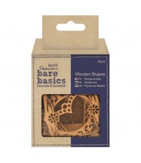 Comprar Pack 10 figura de madera marcos de Conideade