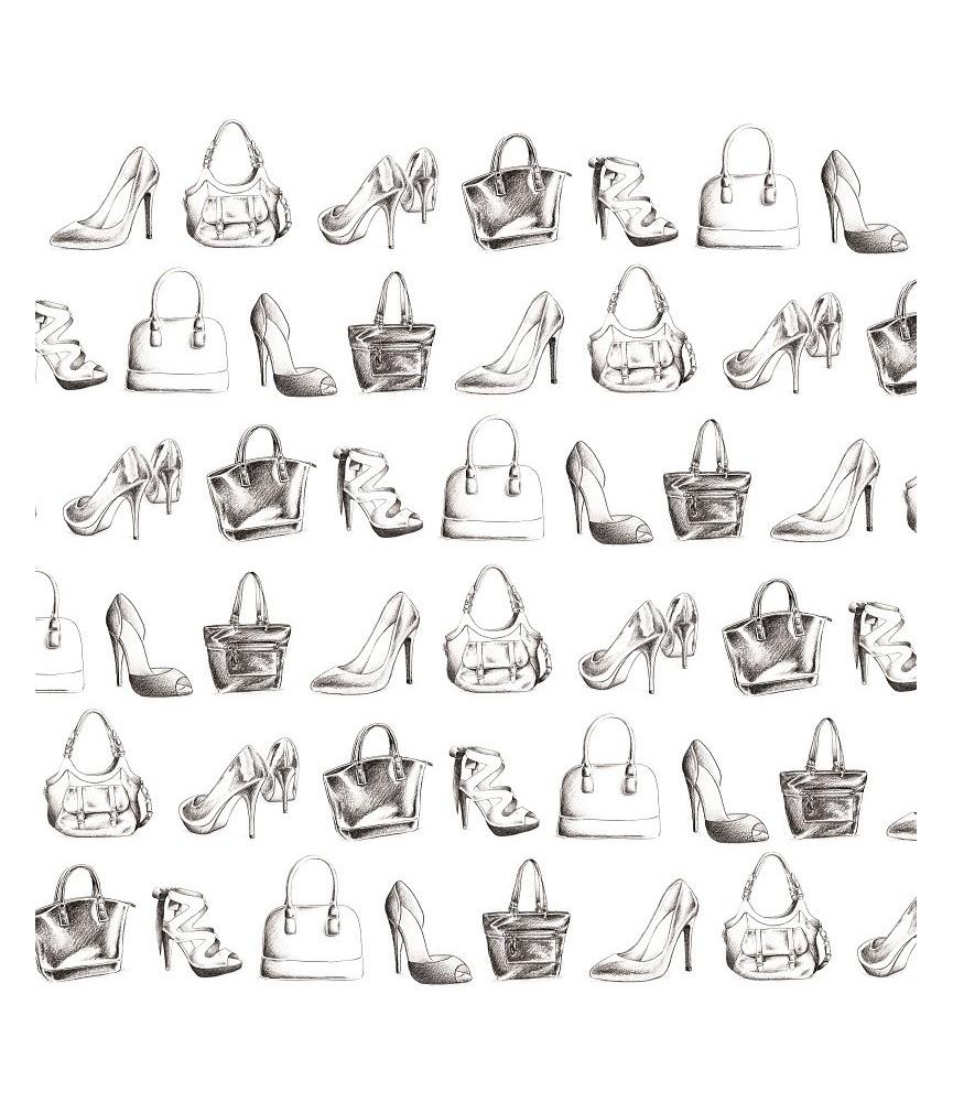 Papel scrap fashionista Bags & Shoes