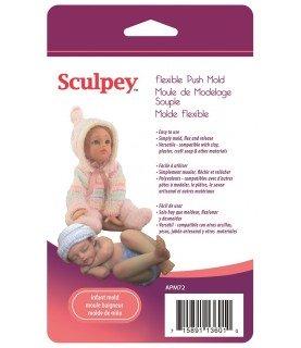 Molde flexible para hacer bebes