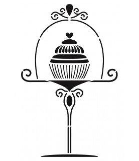 Comprar Plantilla stencil A4 Cupcake de Conideade