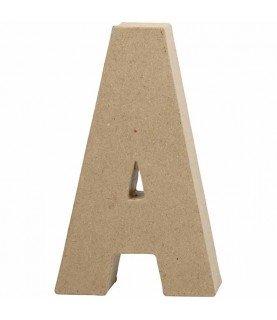 Letras de cartón 20.5 cm A