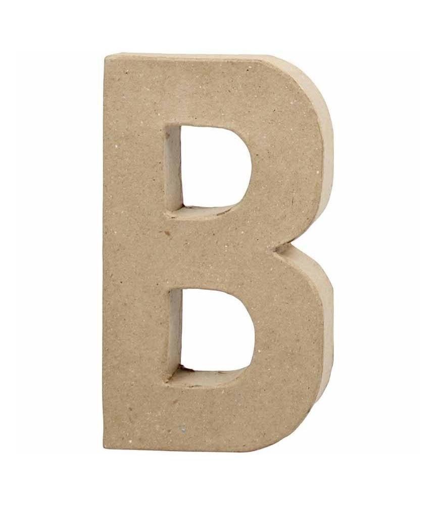 Letras de cartón 20.5 cm B