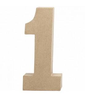 Numeros de cartón 20.5 cm 1