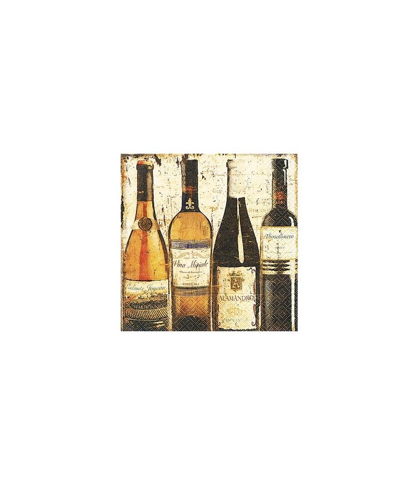 Servilleta degustación de vino 33x33 cm