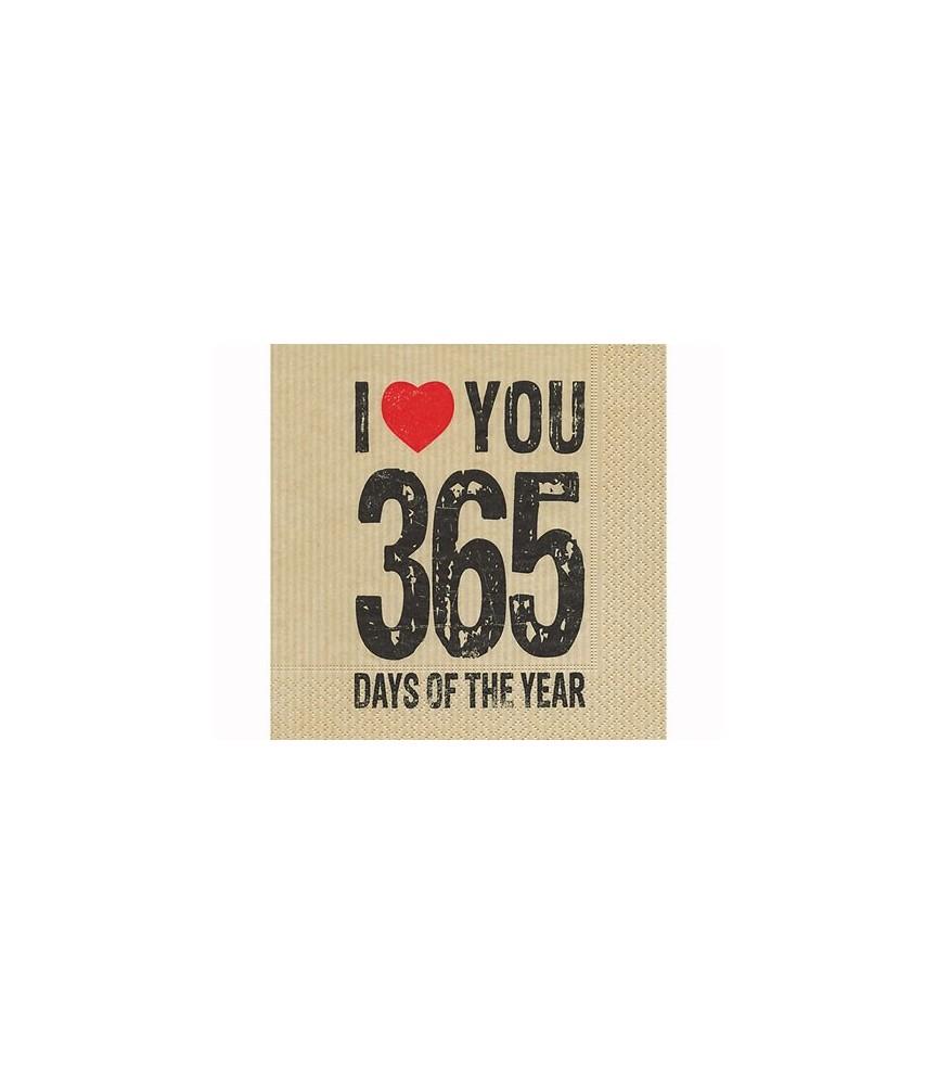 Servilleta 365 days 33 x 33 cm