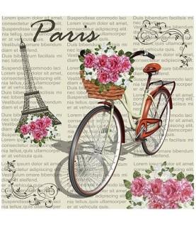 """Imagén: Papel sublimación 30x30cm """"Romantic Paris"""""""