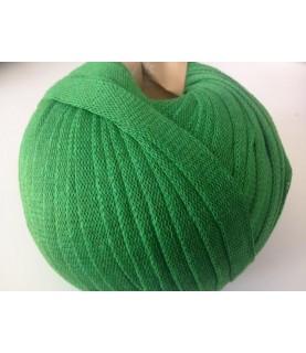 Ovillo de trapillo ligero verde