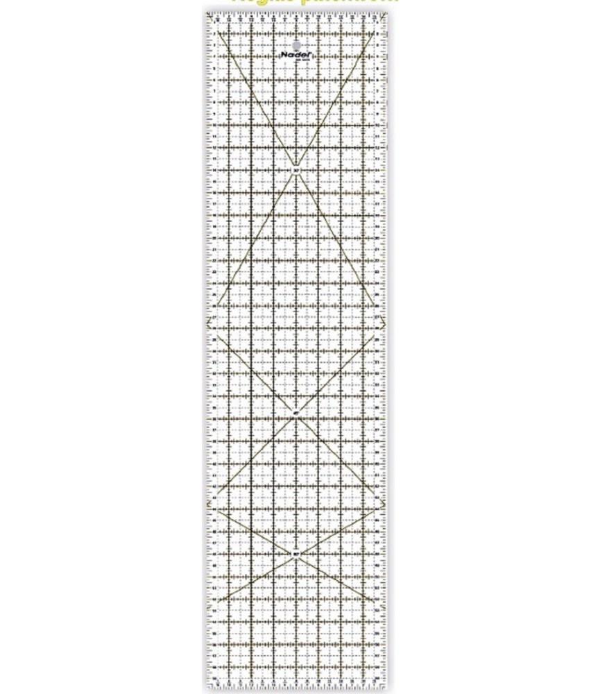 Regla patchwork 10x45 cm