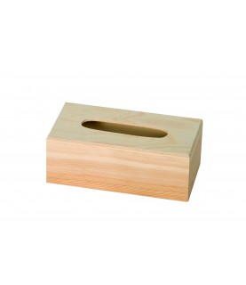 Imagén: Caja de madera pañuelos