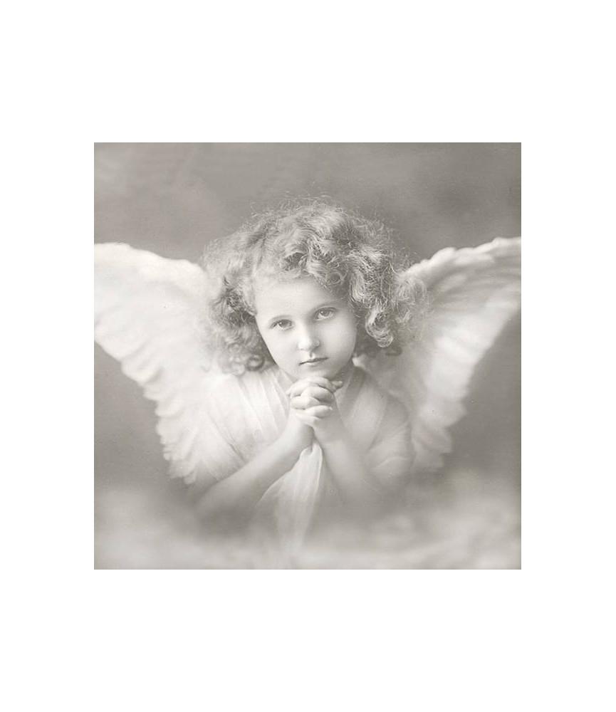 Servilleta vintage angel 33x33cm