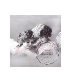 Servilleta vintage 2 girls 33x33cm