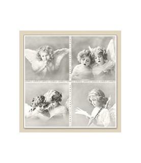 Servilleta vintage Chor angels 33 x 33cm