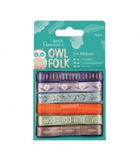 Comprar Pack 6 cintas mod Owl Folk