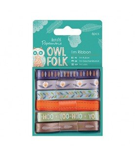 Comprar Pack 6 cintas mod Owl Folk de Conideade