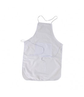 Imagén: Delantal de tela con bolsillo para sublimación