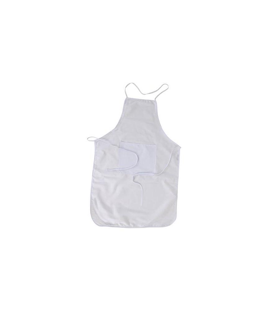 Delantal de tela con bolsillo para sublimación