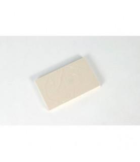 Imagén: Block goma para sellos pequeña 7,2 x 11,40 cm