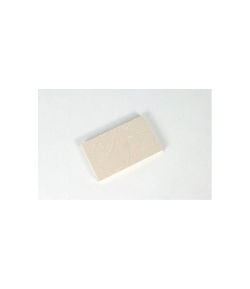 Block goma para sellos pequeña 7,2 x 11,40 cm