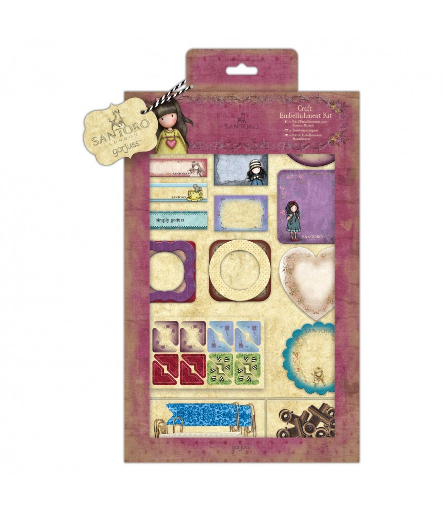 Kit de materiales para manualidades de Gorjuss