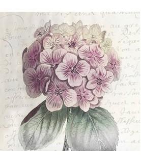 Servilleta vintage Hortensia