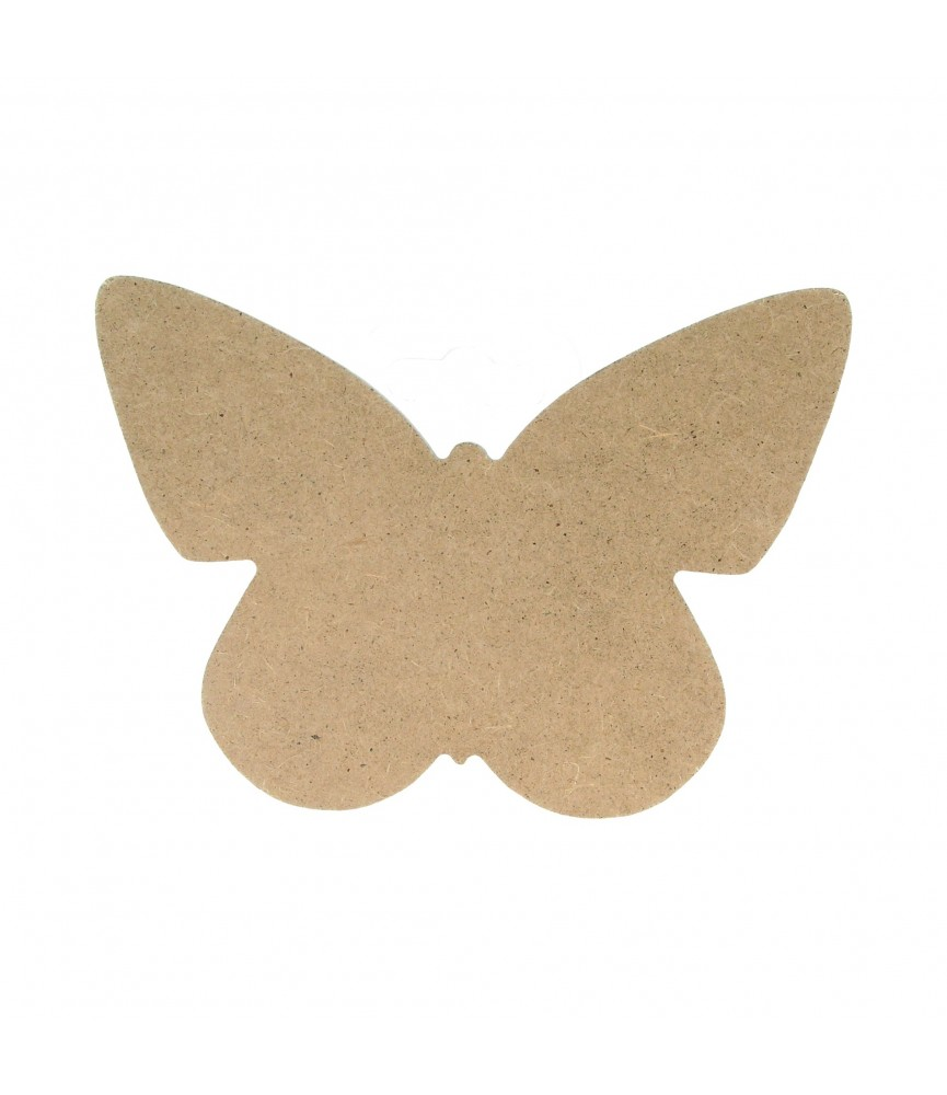 Silueta de madera mariposa