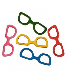 Gafas de madera colores surtido