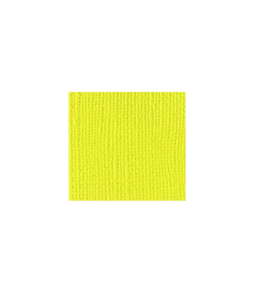Papel scrap Bazzil textura 30 x 30 cm amarillo