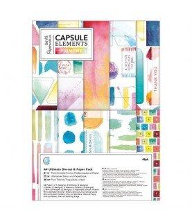 Comprar Pack de troquelados y papel A4 mod Pigments