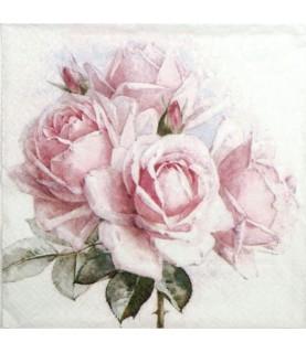 Servilleta vintage GR pink Roses