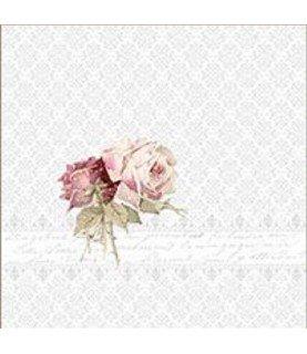 Comprar Servilleta vintage 2 roses ornament de Conideade