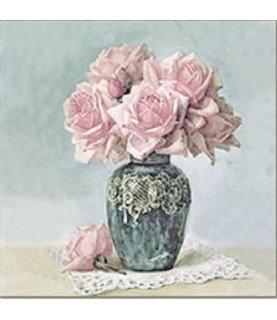 Comprar Servilleta vintage rose in vase de Conideade