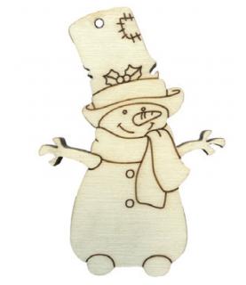 Comprar Muñeco de nieve con chistera de Conideade