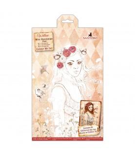Imagén: Pack mini decoupage Colour me in Willow