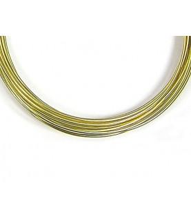 Comprar Alambre de aluminio dorado 1mm de Conideade